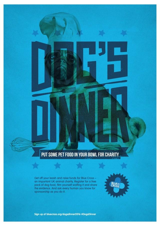 Dog's Dinner Poster